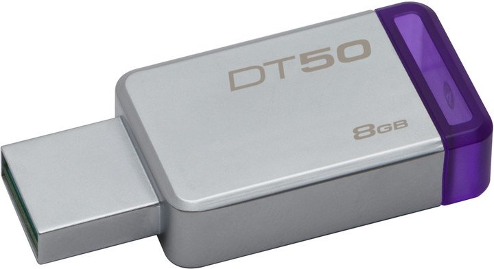 Kingston DataTraveler 50 8GB fialová
