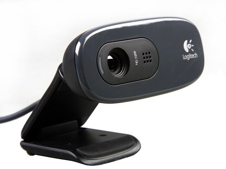 Logitech HD Webcam C270, šedá